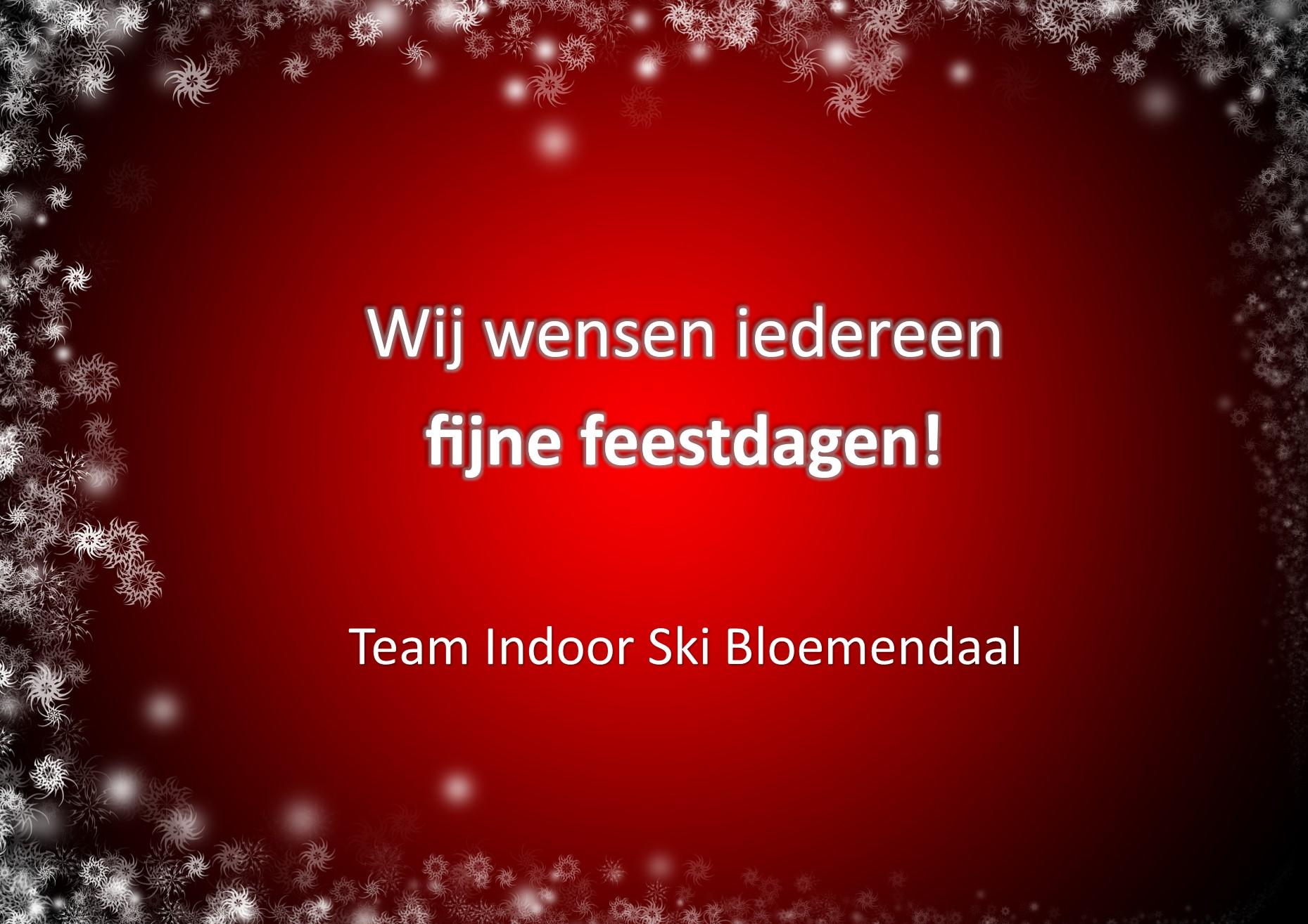 Kerstwens Indoor Ski Bloemendaal